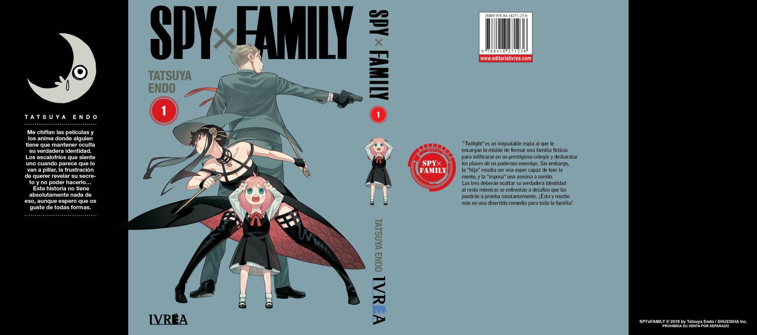 SPY X FAMILY 1 Portada Alternativa