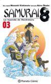 Samurai 8, la leyenda de Hachimaru #3