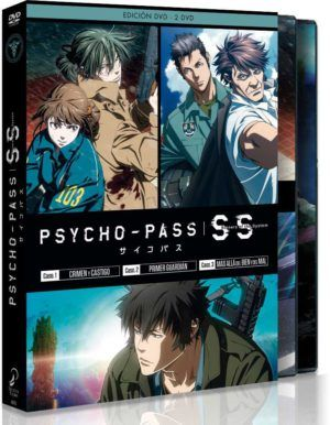 Pack Psycho Pass: Sinners of the System DVD