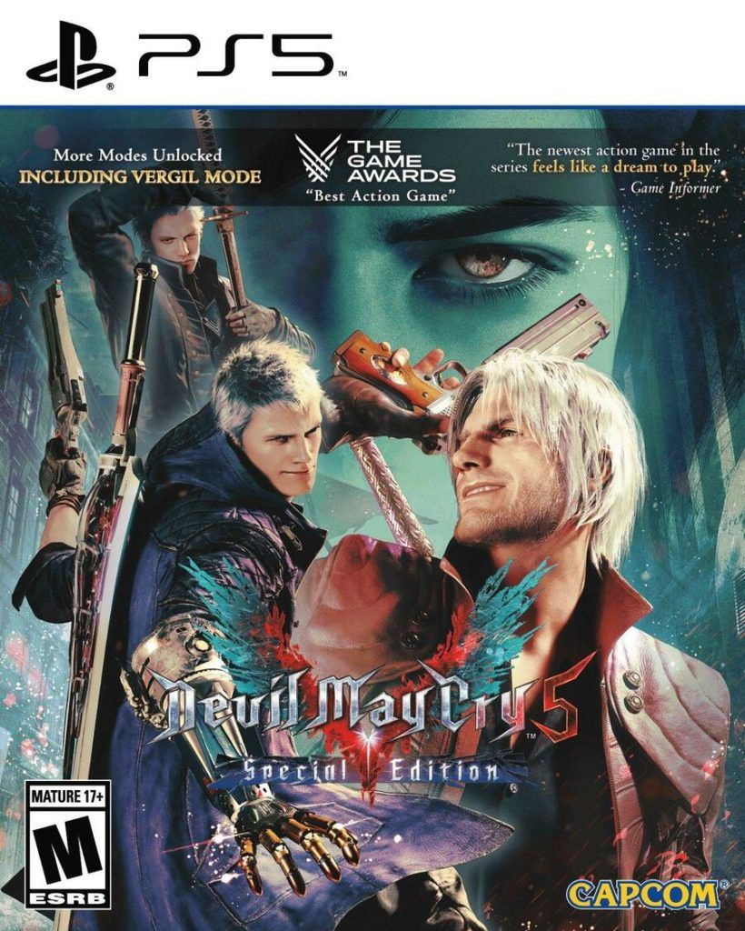 Devil May Cry 5 Special Edition Cover