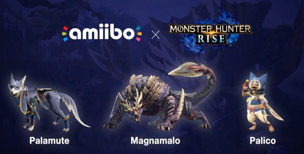 Monster Hunter Rise: Amiibos