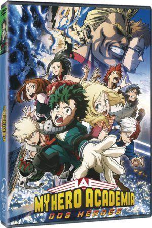 My Hero Academia: dos héroes DVD