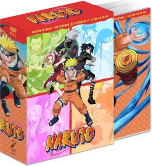 Naruto Box 2 episodios 111 al 220 DVD