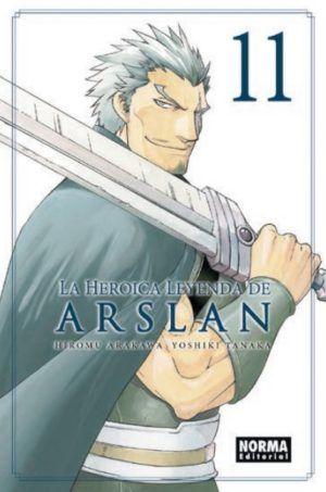 La heroica leyenda de Arslan #11