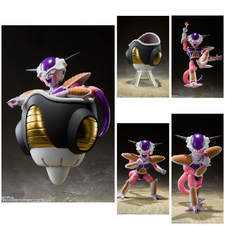 FREEZER FIRST FORM & FREEZER POD SET FIG 11 CM DRAGON BALL Z SH FIGUARTS