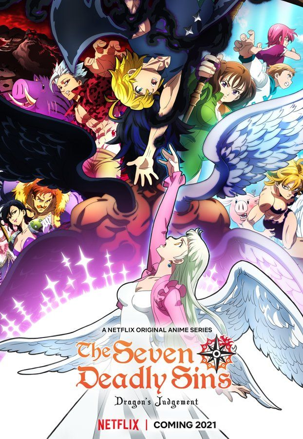 Netflix confirma The Seven Deadly Sins: Dragon's Judgement para 2021 - Ramen Para Dos