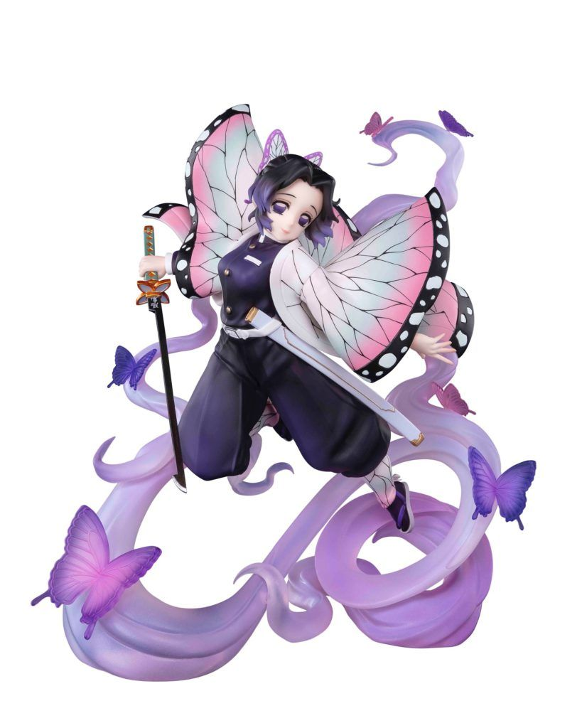 SHINOBU KOCHO INSECT BREATHING FIGURA 17 CM KIMETSU NO YAIBA DEMON SLAYER FIGUARTS ZERO