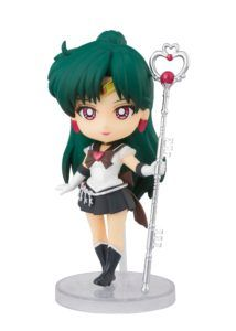 SUPER SAILOR PLUTO ETERNAL EDITION FIGURA 9 CM SAILOR MOON ETERNAL FIGUARTS MINI