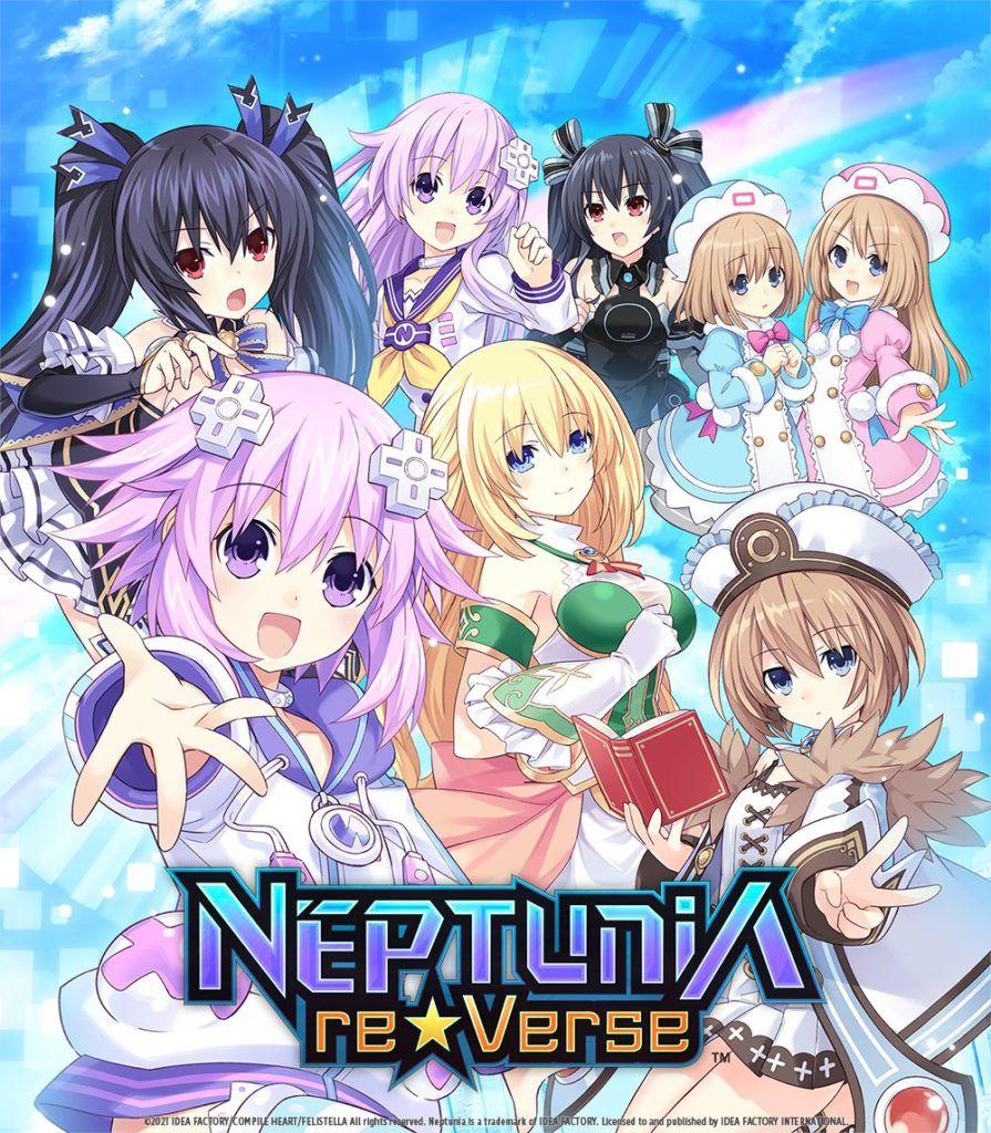 Portada Neptunia Reverse