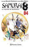 Samurai 8, la leyenda de Hachimaru #4