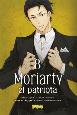 Moriarty, el patriota #8