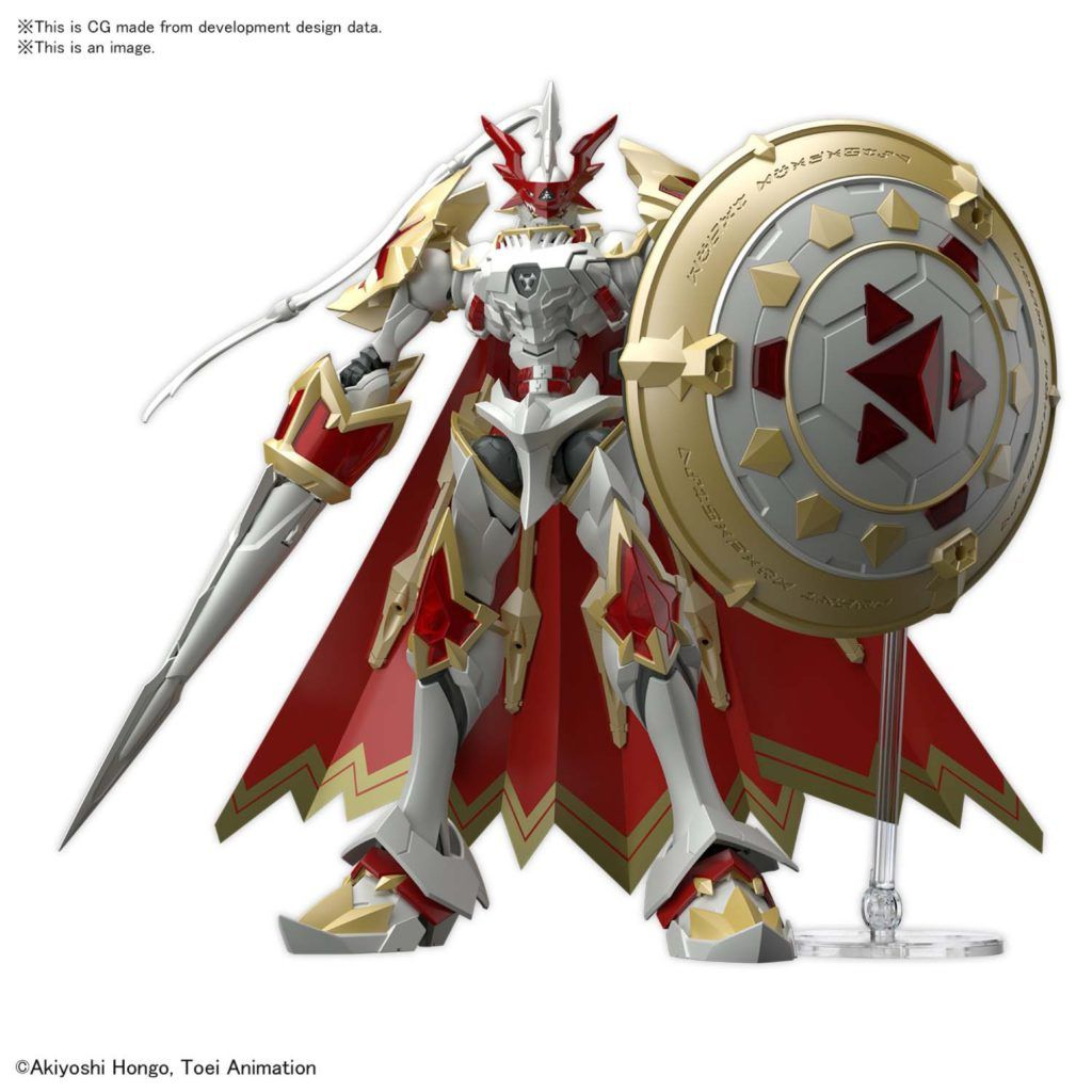 DUKEMON / GALLANTMON (AMPLIFIED) MODEL KIT 25 CM DIGIMON FIGURE-RISE STANDARD MK