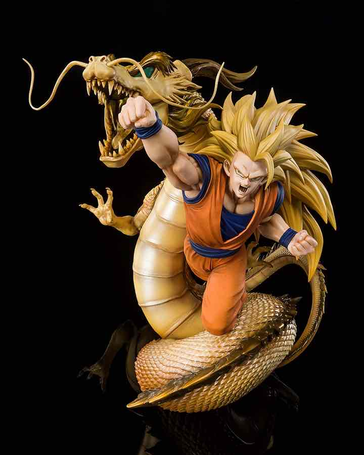 SUPER SAIYAN 3 SON GOKU DRAGON FIST EXPLOSION FIG 21 CM DRAGON BALL Z FIGUARTS Z