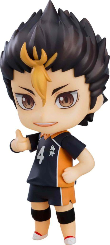 YU NISHINOYA THE NEW KARASUNO VER. FIGURA 10 CM HAIKYU!! TO THE TOP NENDOROID