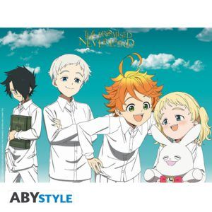 THE PROMISED NEVERLAND Poster Orphans (52x38cm)