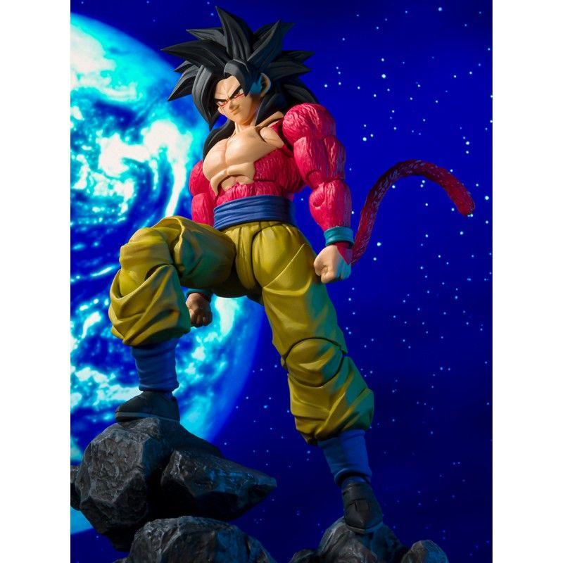 SUPER SAIYAN 4 SON GOKU FIGURA 15 CM DRAGON BALL GT SH FIGUARTS