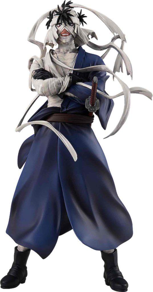 MAKOTO SHISHIO FIGURA 18 CM RUROUNI KENSHIN POP UP PARADE