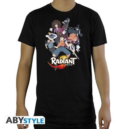 radiant camiseta