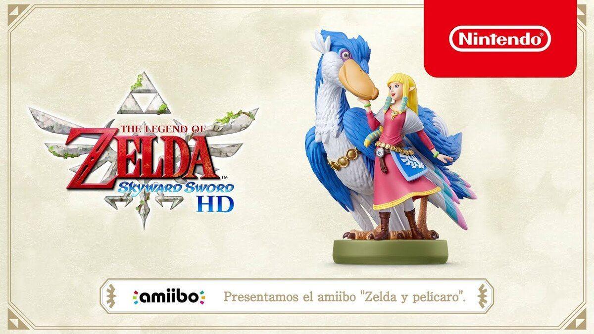 Zelda y pelícaro
