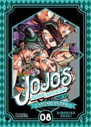 Jojo's Bizarre Adventure part VI: Stone Ocean #8