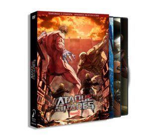 Ataque a los titanes – Temporada 3 completa DVD