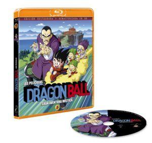 Dragon Ball – Las películas 3: Gran aventura mística BD