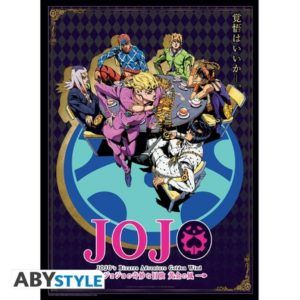 JOJO'S BIZARRE ADVENTURE Poster Golden Wind (52 x 38 cm)