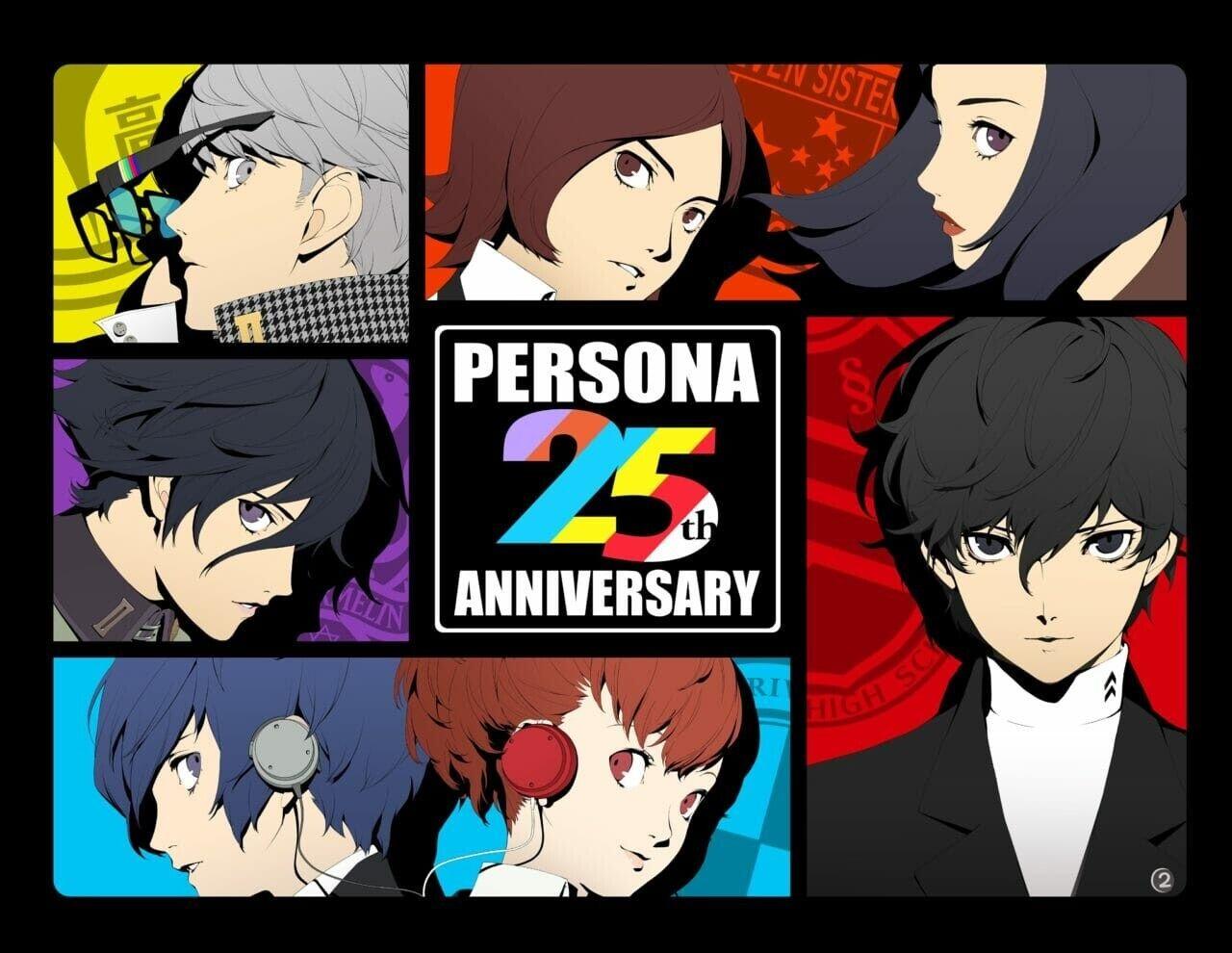 Persona 25 anniversary
