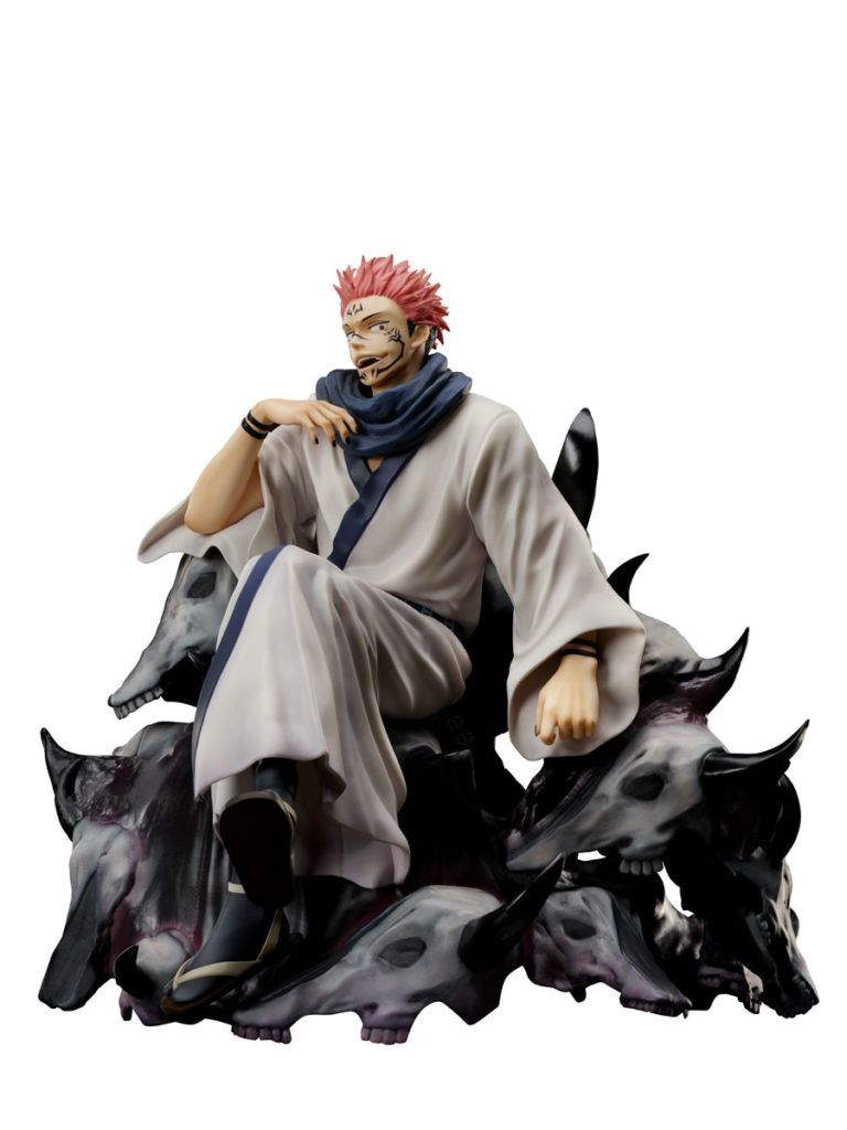 SAKUNA RYOMEN KING OF CURSES FIGURA 21,5 CM JUJUTSU KAISEN 1/7 SCALE