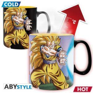 DRAGON BALL Heat change mug Kamehameha