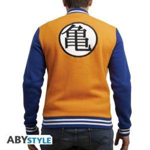 DRAGON BALL Premium Jacket Kame symbol orange/blue