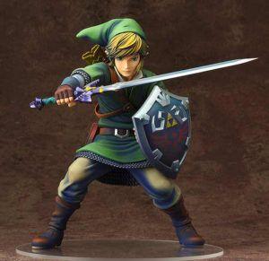 LINK(RE-RUN) ESTATUA THE LEGEND OF ZELDA: SKYWARD SWORD