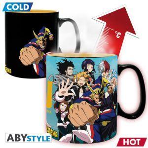 MY HERO ACADEMIA Heat change mug Group