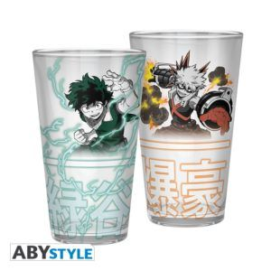 MY HERO ACADEMIA Large Glass Izuku & Bakugo